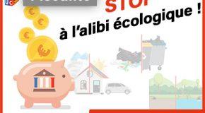 Fiscalité : stop à l'alibi écologique!